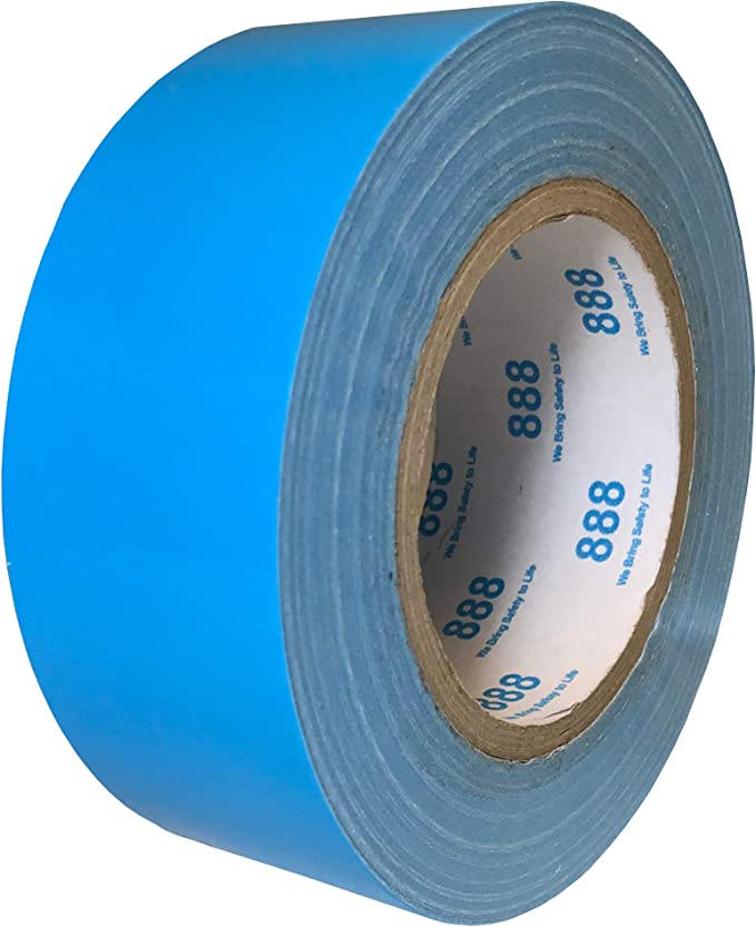 Indoor Outdoor Use DIY Extra Strength Must Have Garage Tool Exa Duct Tape 1.88 Inches x 60 Yards Book Repair Repairs No Residue Duct Tape for Crafts 1.88 X 60 Yards, Hi Vis Orange
