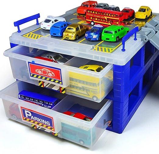 MX Kingdom - Organizador de plástico para aparcamiento de coches con separador de caja de plástico, resistente al polvo, color al azar: Amazon.es: Hogar