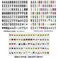 Freeas 293 Emojis, símbolos, letras y números