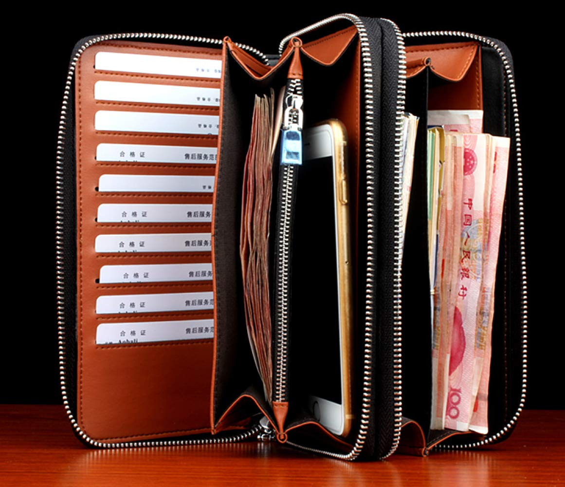 ATR Hand Bag Leather Long Wallet Personality Male Youth Clutch Bag High-End Casual Men Bag New