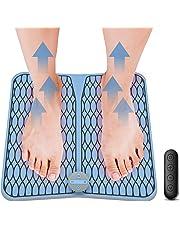 Masajeadores eléctricos para pies, Vigorun Pulsos de Baja Frecuencia Estimulación Muscular Eléctrica (EMS) Cojín de Masaje de Pies Fisioterapia Inteligente para Mejorar la Circulación Sanguínea
