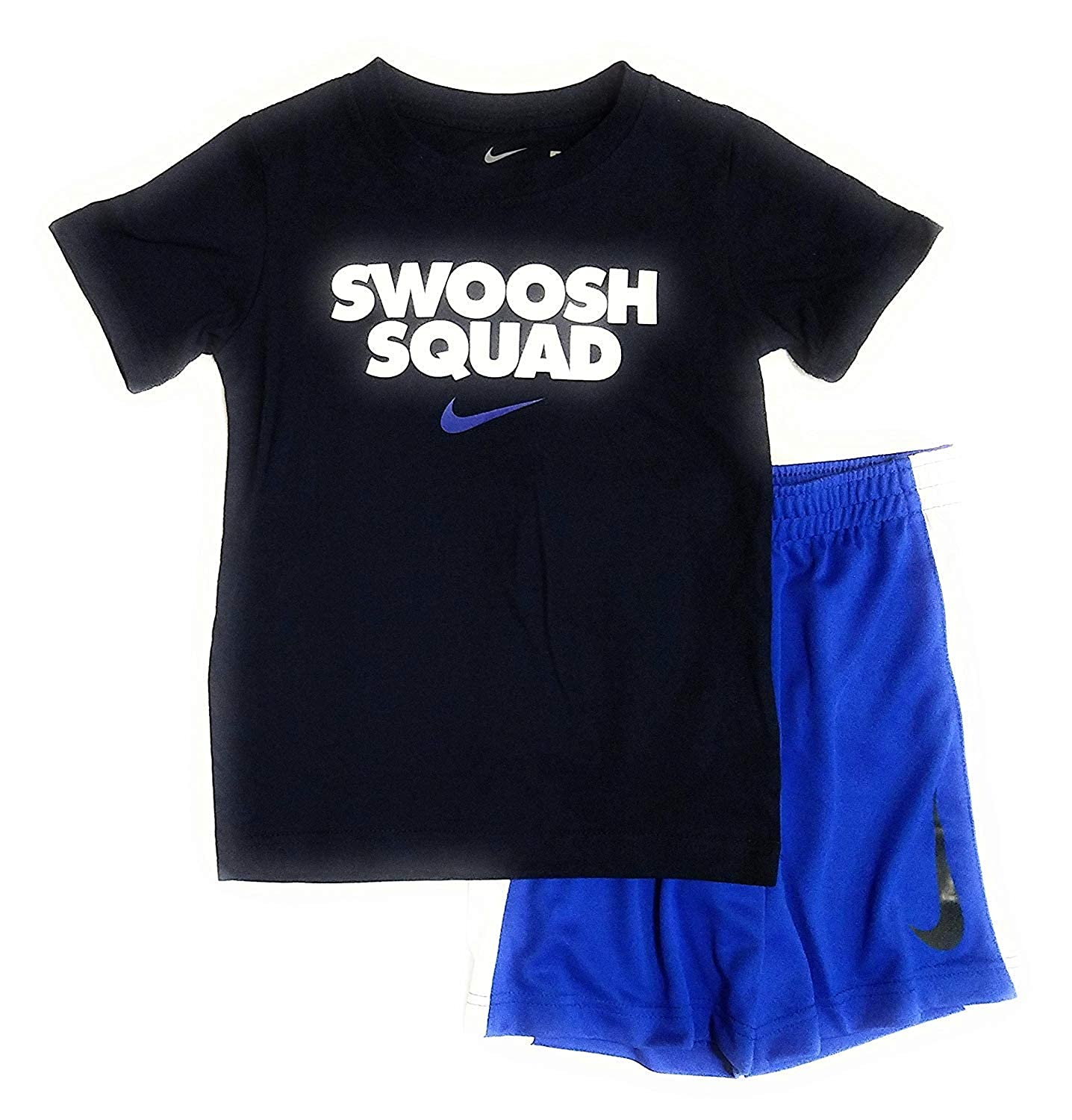 050fad82d2dad Amazon.com: NIKE Boys Short Sleeve Athletic T Shirt and Shorts Set ...