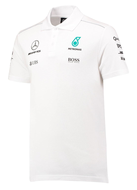 2017Mercedes-AMG F1Lewis Hamilton Herren T-Shirt Hugo Boss Tee Formel