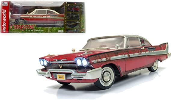 Auto World Silver Screen Machines An Evil 1958 Plymouth Fury Christine NG08
