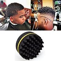Salon Barber Wave double face éponge Brosse à cheveux pour Dreads Bobine Locs Lo8loc91025Curl Twist