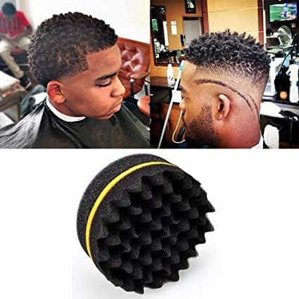 Miraculous Salon Barber Wave Double Sided Hair Brush Sponge For Dreads Coil Natural Hairstyles Runnerswayorg
