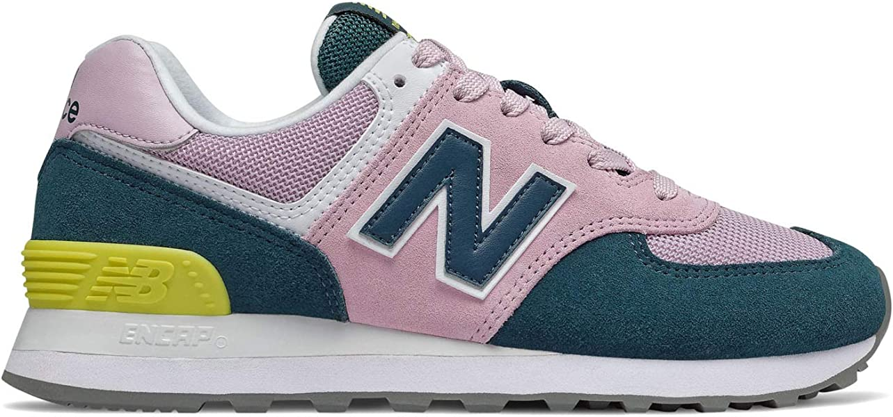 new style d9680 a2c60 Women's Iconic 574 V2 Sneaker Oxygen Pink/Supercell 6 B US