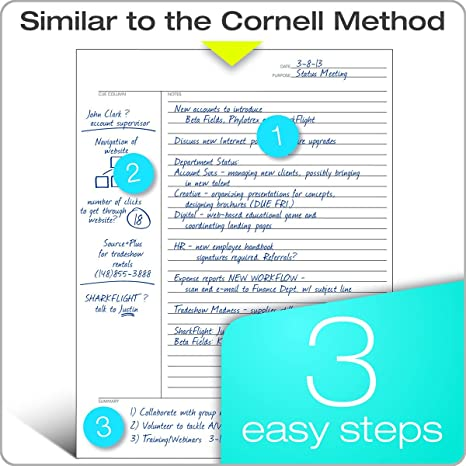 Math Worksheets fun middle school math worksheets : Amazon.com: TOPS FocusNotes Note Taking System Filler Paper, 8.5 x ...