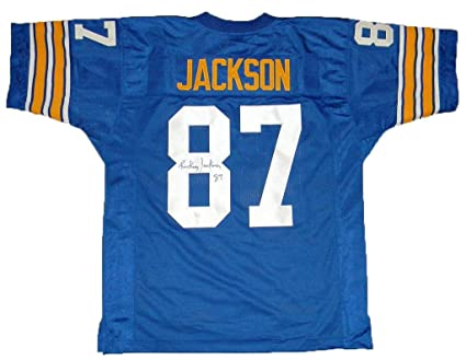 buy popular 39757 5ebdf Rickey Jackson Autographed Jersey - Pitt Pittsburgh Panthers ...