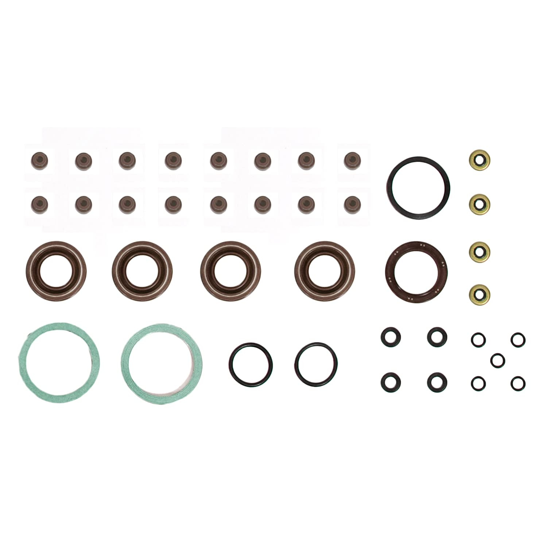 Standard Size Main Rod Bearings Standard Size Piston Rings Evergreen Engine Rering Kit FSBRR2015\0\0\0 Fits 93-97 Toyota Celica Corolla Geo 1.8 DOHC 7AFE Full Gasket Set