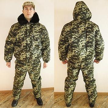 Amazon.com: Invierno Ruso ucraniano Militar Camuflaje ...