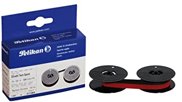 Pelikan 571984 - Cinta para Olivetti Grupo 8 D, color negro y rojo (bicolor): Amazon.es: Oficina y papelería