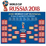 Amazon Price History for:World Cup 2018 Stickers - 16 x 24 Inches Russia World Cup 2018 Poster/Soccer Calendar Bar/Party Decorations