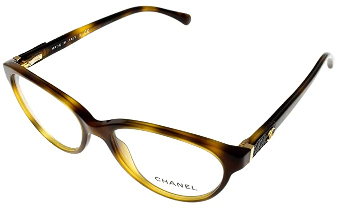 4ca8447dc9 Image Unavailable. Image not available for. Colour  Chanel Prescription  Eyewear Frames Womens Oval ...