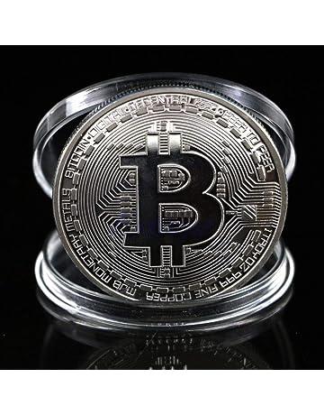 XXIAZHI,Regalo de colección BTC Colección de Arte físico Bitcoin conmemorativo de la Moneda(