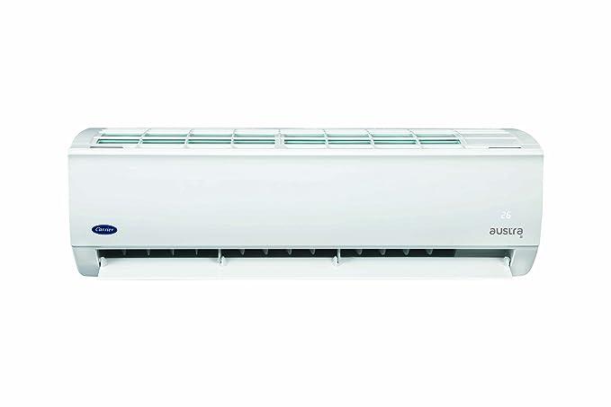 Carrier 1 Ton, 3 Star Inverter Split AC  Copper, 12K AUSTRA, White  Air Conditioners