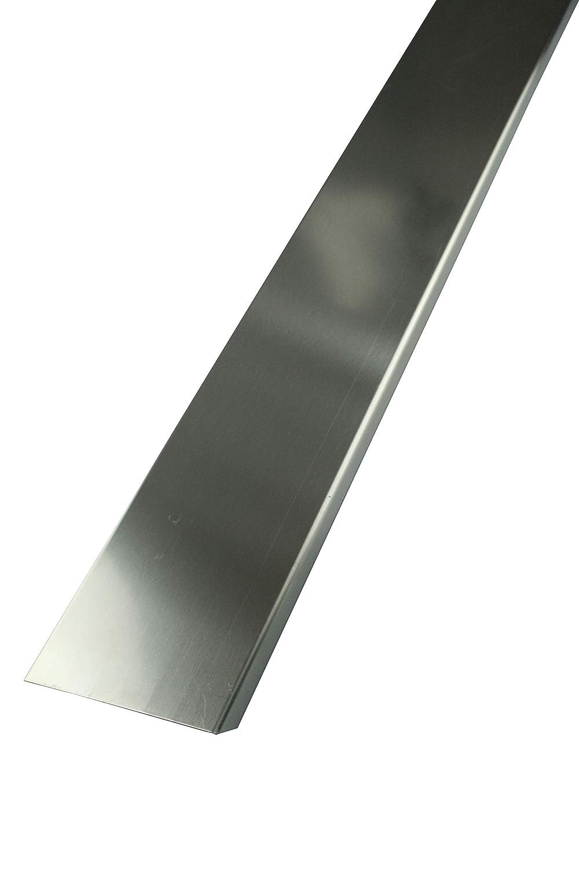 FUCHS profilé finition pour briques de verre pour brique de verre épaisseur 8 cm – aluminium Blanc 1, 25 m Longueur Fuchs Design