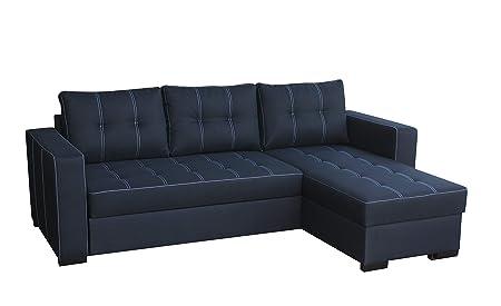 Ecksofa Sofa Eckcouch Couch Mit Schlaffunktion Und Bettkasten