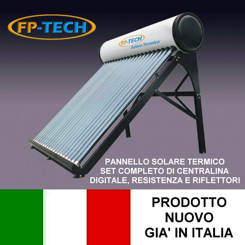 PANNELLO SOLARE TERMICO ACQUA CALDA SANITARIA ACCIAIO INOX 150 LT ...