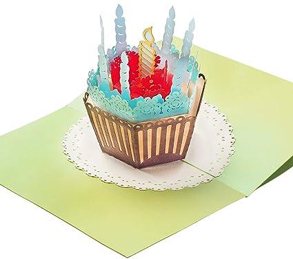 Tarjeta de cumpleaños con extra laterales para fiestas, con ...