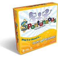 Deals on Spontuneous The Song Game Sing It or Shout It Board Game