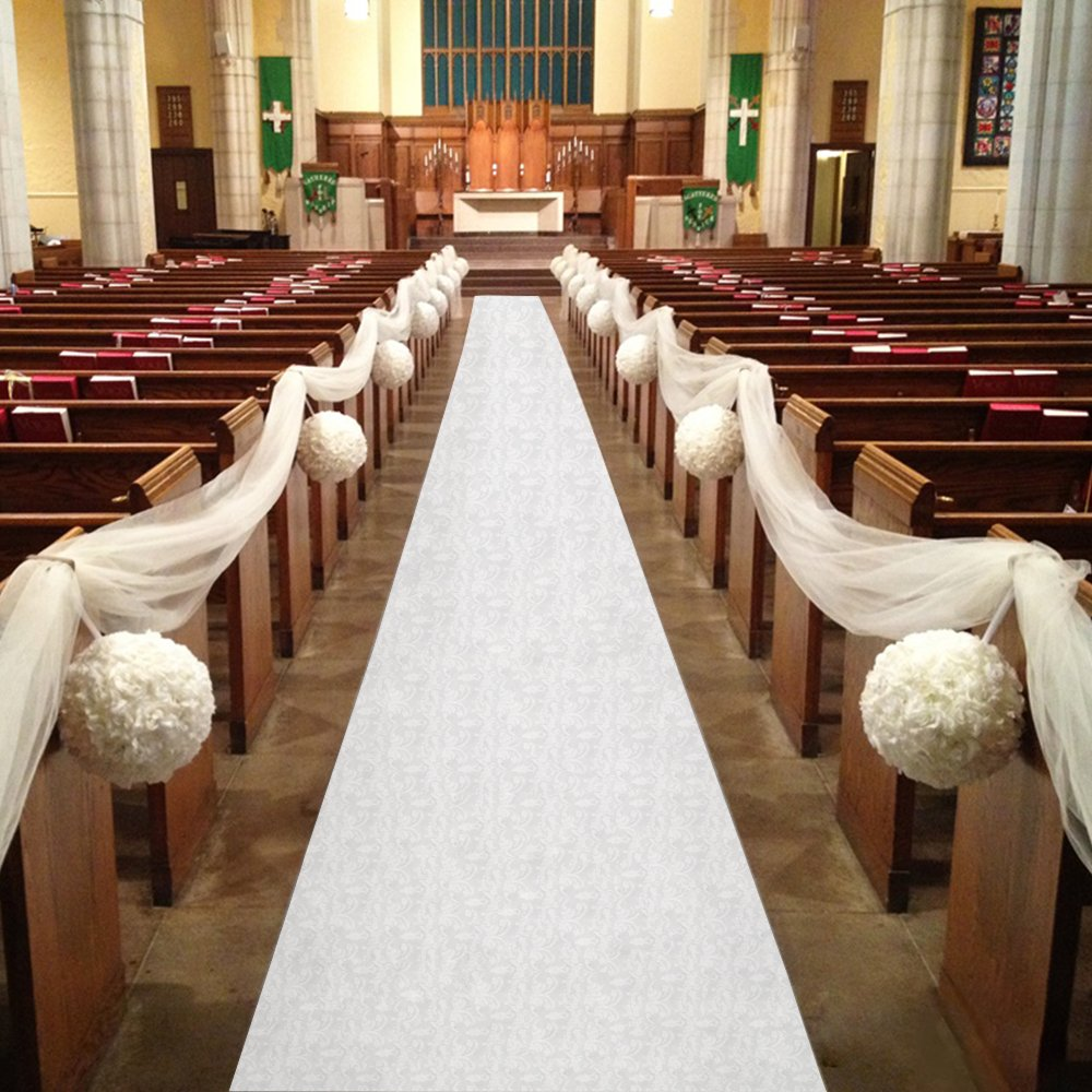 Wedding Decoration Ideas For Church Ceremony: Best Rated In Aisle Runners & Helpful Customer Reviews
