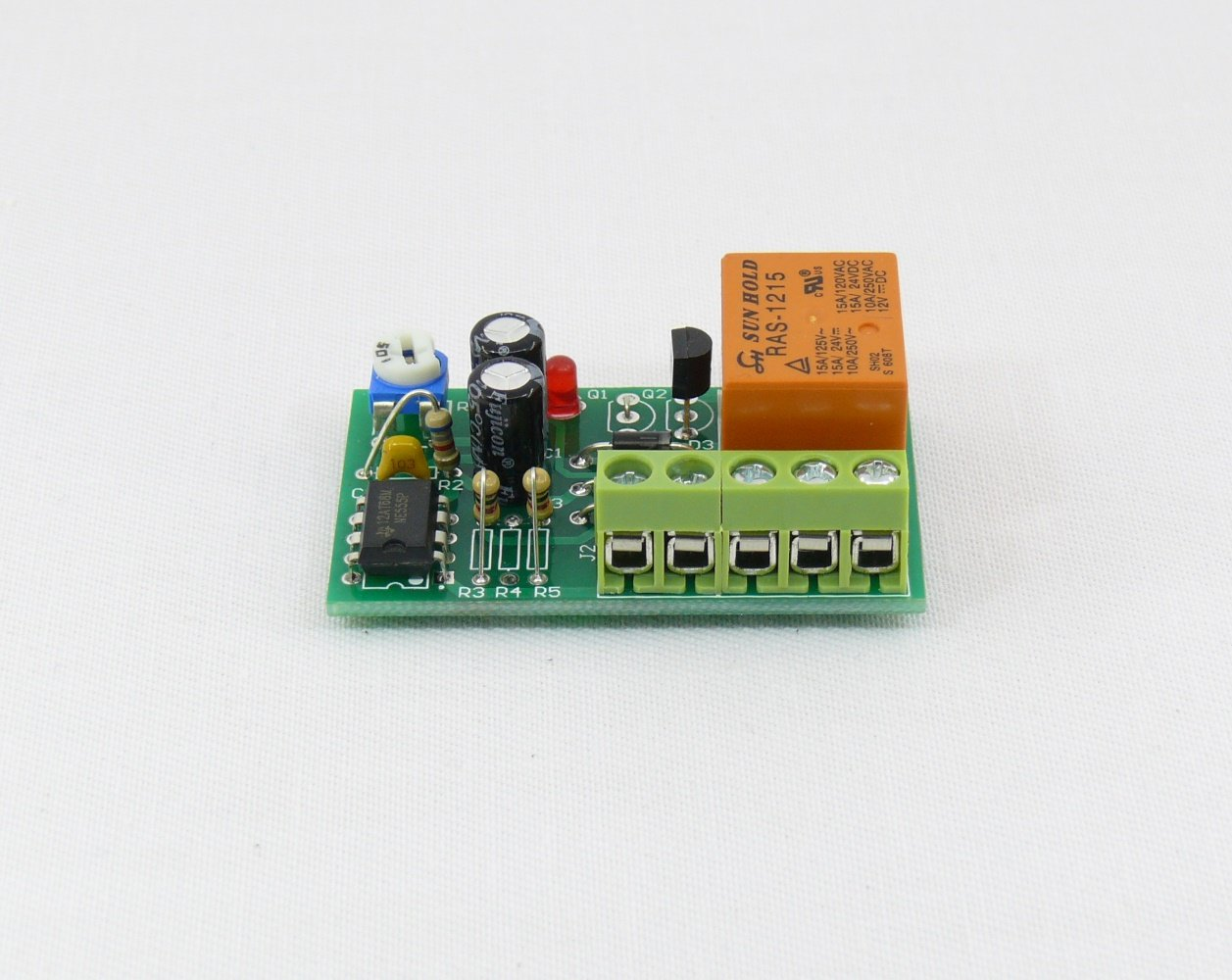 Timer Switch Time Relay 1 To 50 Sec Delay Off 12v Hk1582 Circuit Module W Vehicle Electrical Electronics