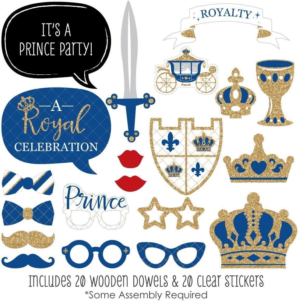 Amazon.com: Royal Prince Charming – Baby Shower o cumpleaños ...