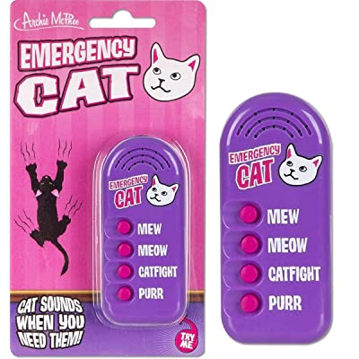 Archie McPhee Emergency Cat Electronic Noisemaker: Home & Kitchen