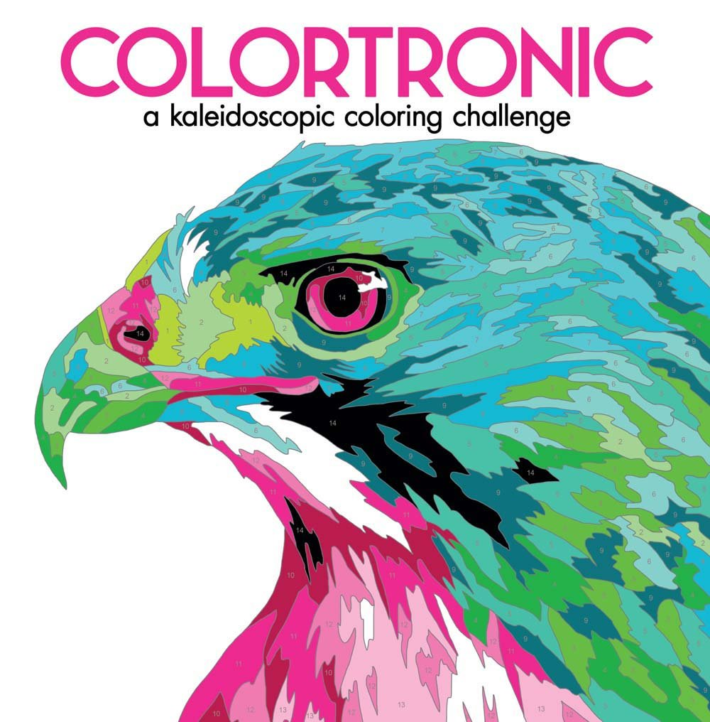 Colortronic: A Kaleidoscopic Coloring Challenge: Lark Crafts ...