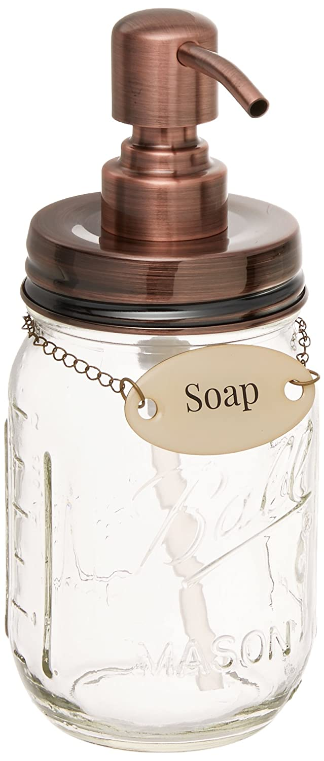 Soap with Chain Duke Baron Vintage Brass Tag
