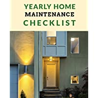 Image for Yearly Home Maintenance Check List: Yearly Home Maintenance - For Homeowners - Investors - HVAC - Yard - Inventory - Rental Properties - Home Repair Schedule