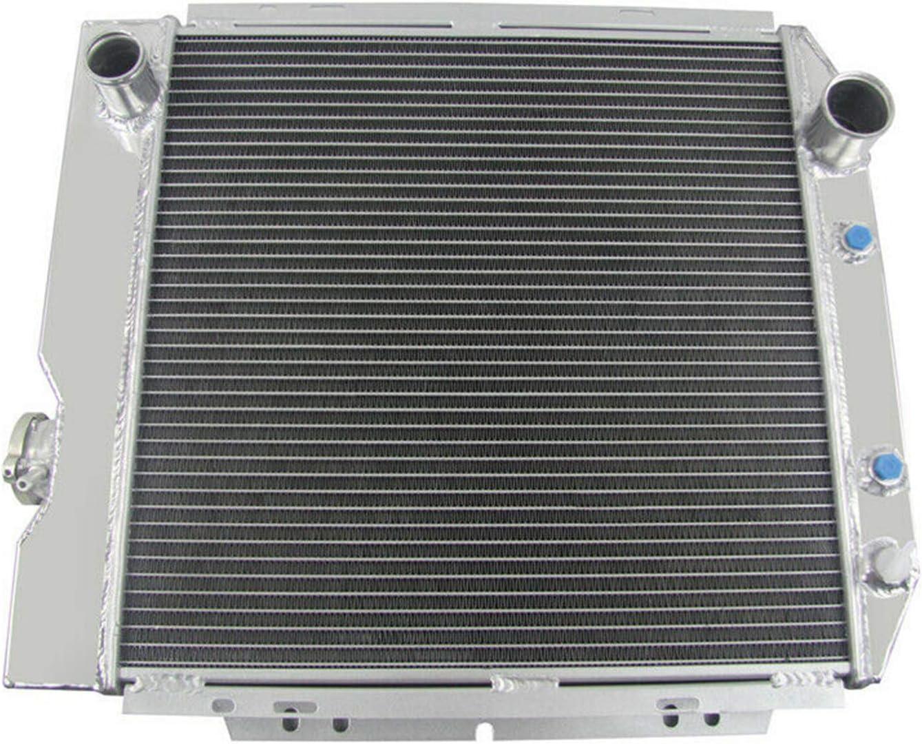 3Row Aluminum Radiator For 1964-1966 Ford Mustang 260 289 1965 V8 4.3L//4.7L+Fans