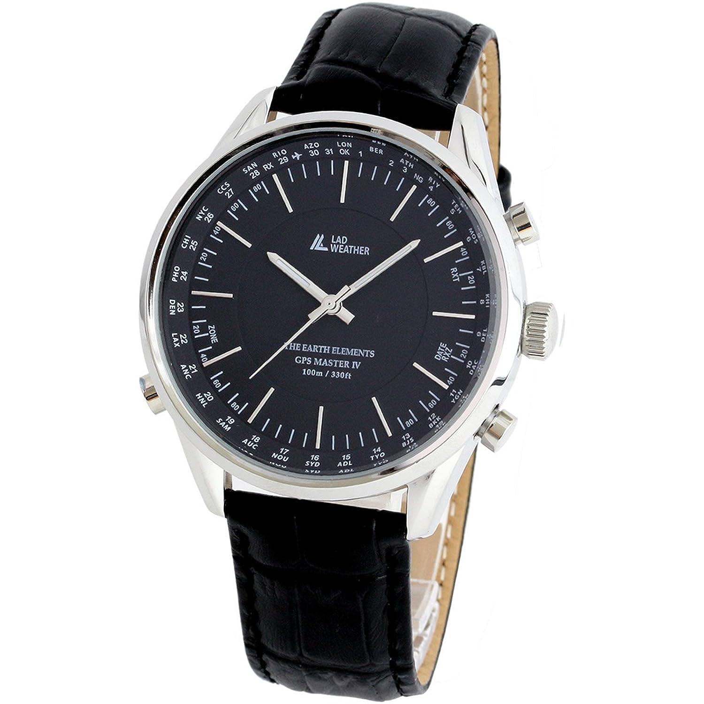 [LAD WEATHER] GPS-Einheiten Uhren- Armbanduhren Manuell - Auto 100 Meter wasserdicht 30 Zeitzone Breite Einfache