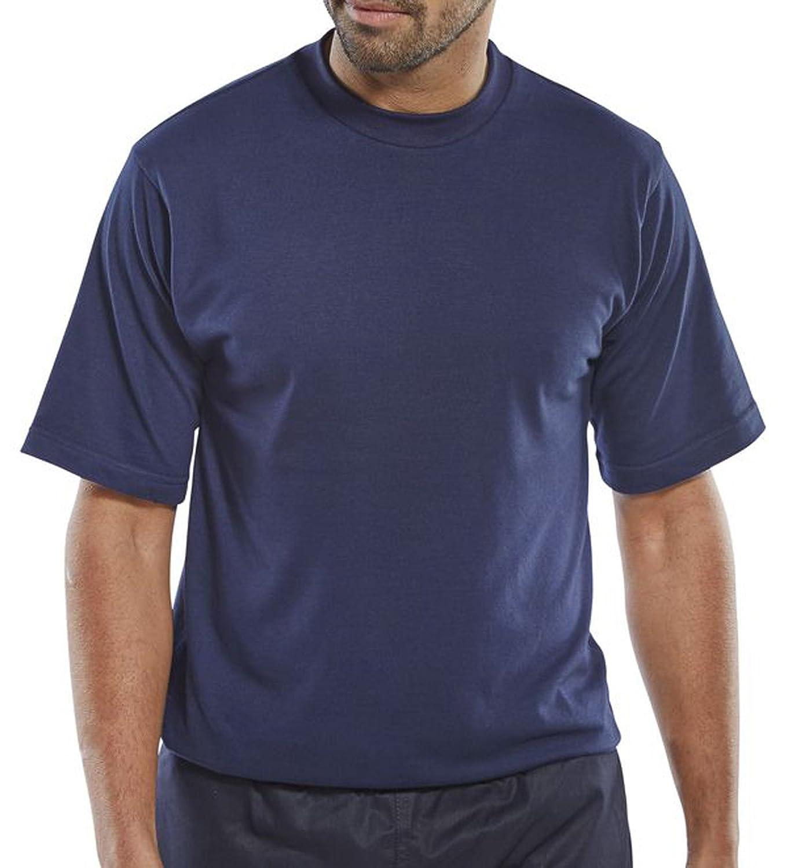 Click Fire Retardant T-Shirt Short Sleeve Navy - Cfrtsn