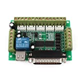 Mach3 CNC Stepper Motor Driver Adapter Breakout Board w USB Cable