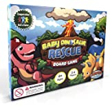 Baby Dinosaur Rescue Board Game #1 Kids Cooperative Dinosaur Game for Kids Ages 4 to 8 - Teach Children New Skills While Having Fun - Learning Board Games That Teaches Friends to Play Together!