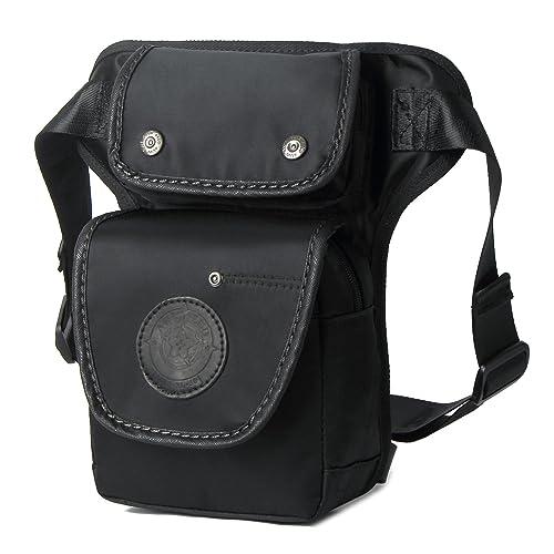 Outreo Bolso de Cintura Sport Bag Bolsa de Pierna Gimnasio Riñonera Deporte Bolsos Outdoor Hombre Bolsas