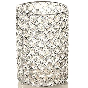Vincigant Kerzenstander Vase Silber Kerzenhalter Fur Stumpenkerzen