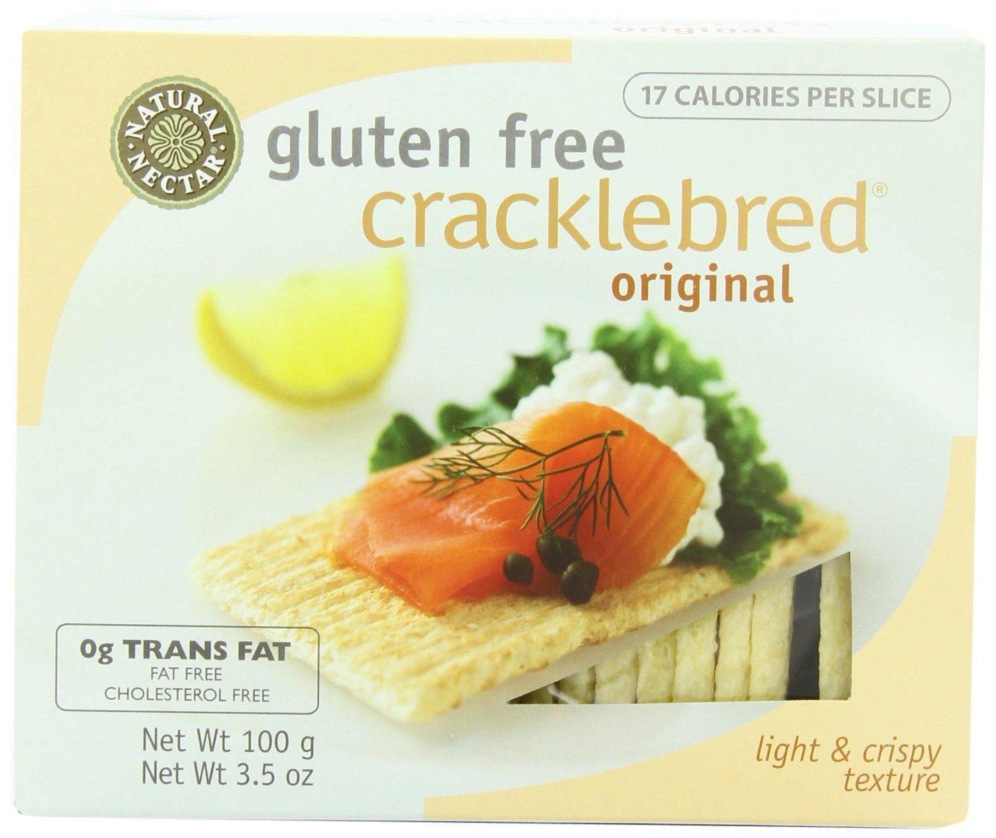 Natural Nectar Gluten Free Cracklebred, Original, 3.5(Pack of 3)