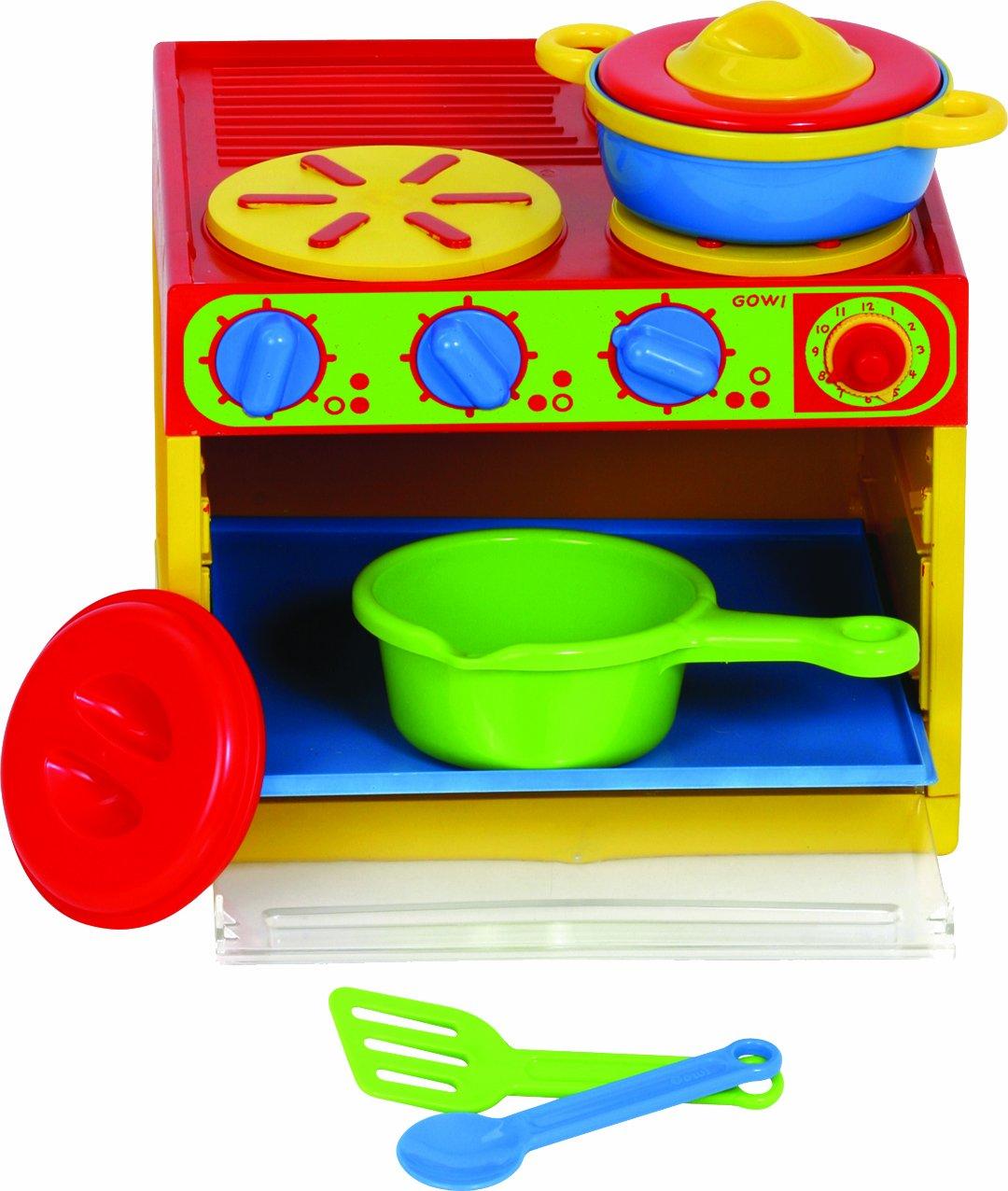 Gowi 454-91 3-er Herd, Küchenspielzeug, 7 teilig: Amazon.de: Spielzeug
