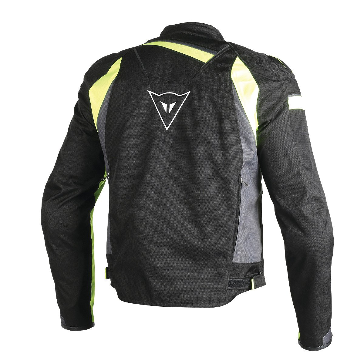 Amazon.com: Dainese Veloster Textile Jacket (BLACK/EBONY ...