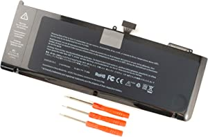 A1321 Laptop Battery for MacBook Pro 15 inch A1286 (mid 2009 2010 Version) MB985 MB986 M1047 MB986J/A MC118 Series 020-6380-A 020-6766-B - 12 Months Warranty