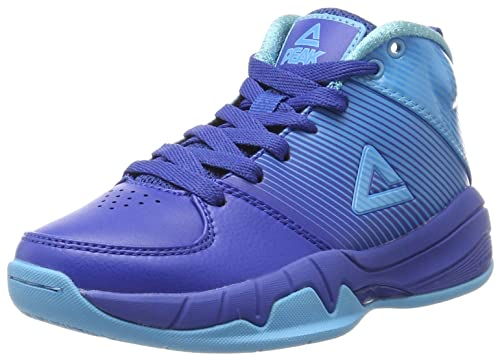 Peak Sport Europe Basketballshoe Kids Weave, Zapatillas de Baloncesto Unisex niños, Azul (Royal 22268), 28 EU: Amazon.es: Zapatos y complementos