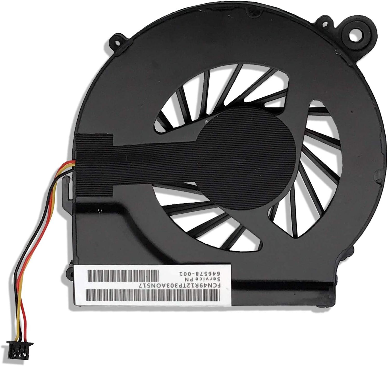 CBK CPU Cooling Fan for HP Pavilion G7 G6 G4 HP Compaq CQ42 CQ42-100 CQ42-200 CQ42-300 CQ62 CQ56 CQ56z CQ56-112 CQ56-115 Presario CQ62z G62t Series Laptop 646578-001 KSB06105HA