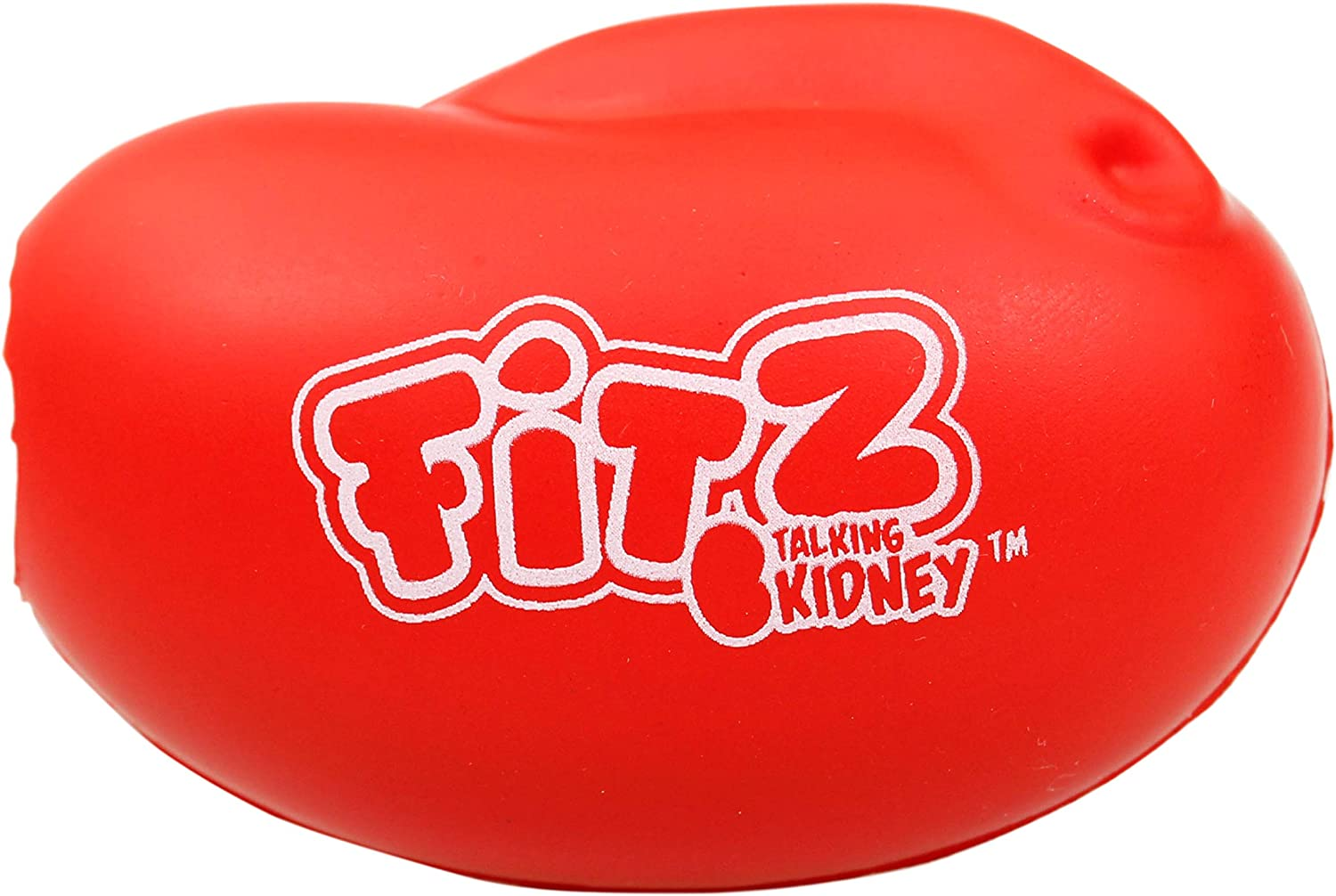 Fitz Talking Kidney Motivational Stress Ball - Encouragement and Stress Relief - Quotes - Squeeze Ball: Sports & Outdoors