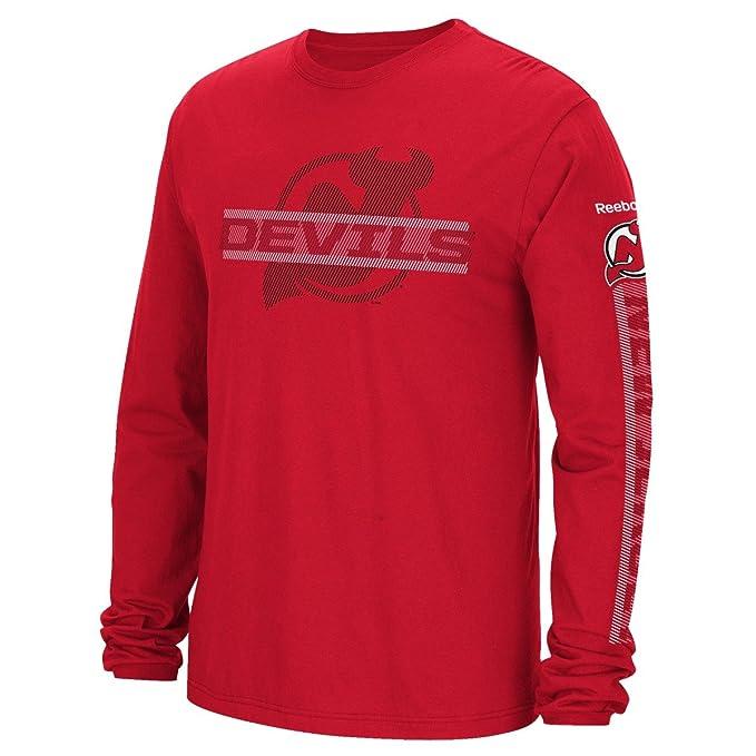 brand new a3ea1 cfc5c New Jersey Devils Reebok NHL Men's