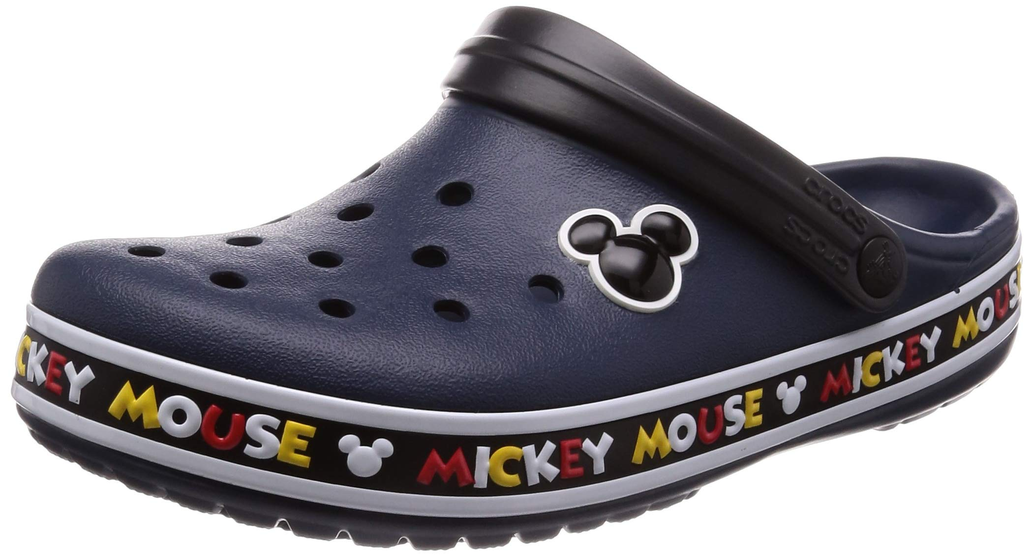 Crocs Crocband Mickey III Clog, Multi 7 US Men/ 9 US Women M US