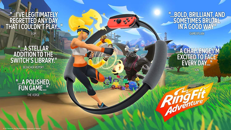 Nintendo Switch - Ring Fit Adventure, Nintendo Labo Toy-Con 04: VR Kit - Juego de iniciación + Blaster con 69 Value HESVAP 13 en 1 Estuche: Amazon.es: Industria, empresas y ciencia