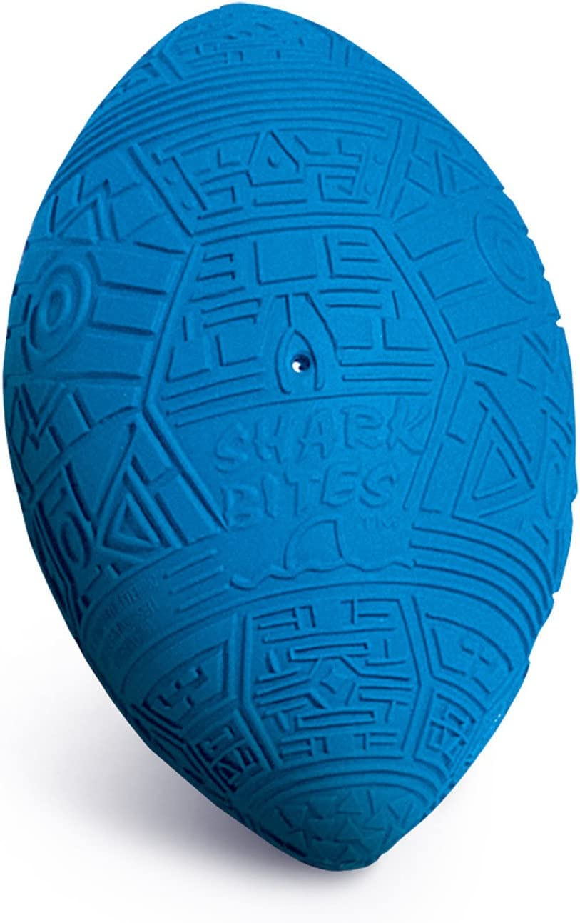 Poolmaster 72675 Shark Bites Grip Water Sport Football and Swimming Pool Toy
